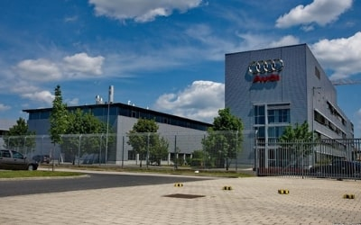 Audi gyártócsarnok Győr