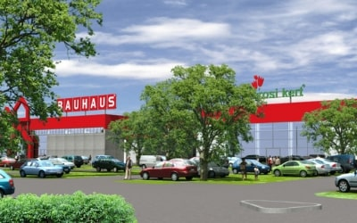 Bauhaus áruházak országszerte
