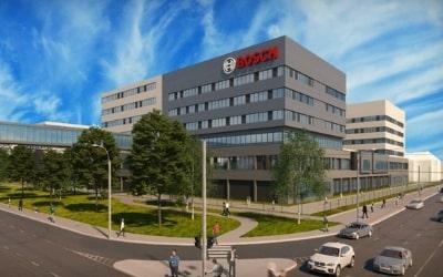 Bosch irodaházak Budapest